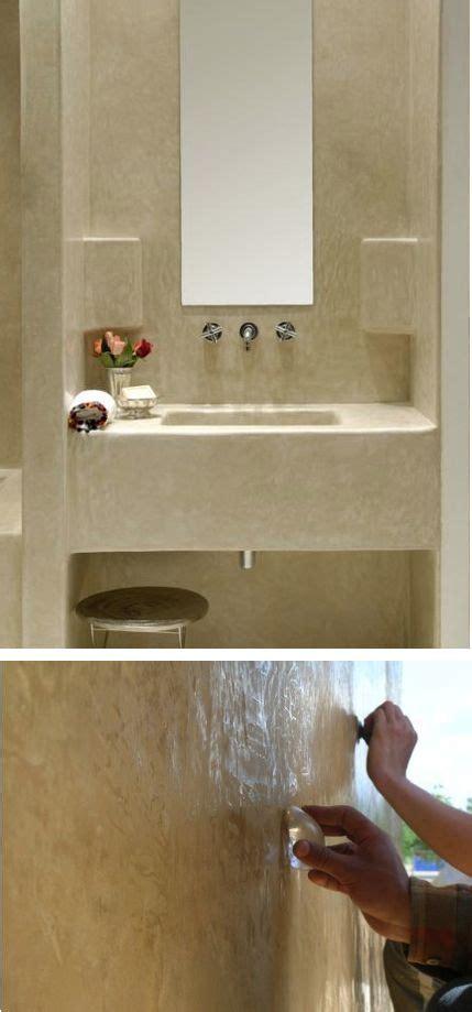 wall finish ideas tadelakt wall finish bathroom ideas pinterest