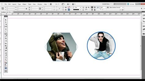 indesign frame tool adobe indesign using the frame tools and shape tools with