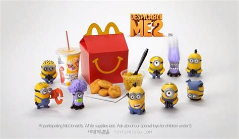 Happymeal Mac Donalds Karakter 3 mcdonald s de l impression 3d pour les jouets du happy meal