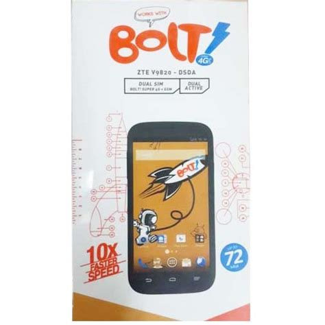 Hp Zte V9820 Bolt bolt 4g power phone zte v9820 white jakartanotebook