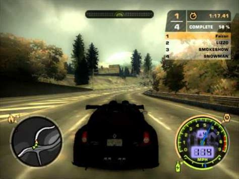 renault clio v6 nfs carbon need for speed most wanted custom renault clio v6 sport