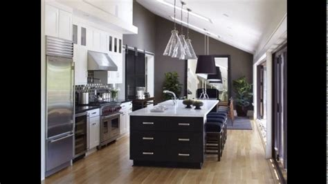one wall kitchen with island designs one wall kitchen design with island