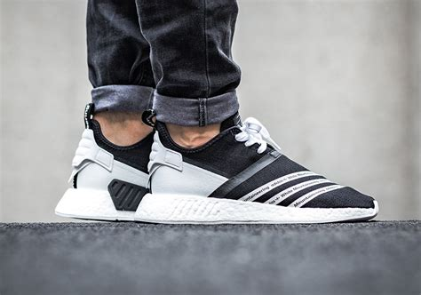 White Mountainering X Adidas Nmd R2 Black White here s how the white mountaineering x adidas nmd collection looks on kicksonfire