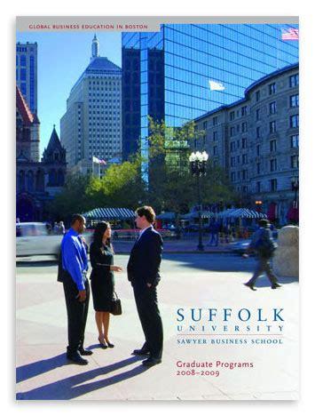 Suffolk Mba Graduation Date by Suffolk Graduate Prospectus On Behance
