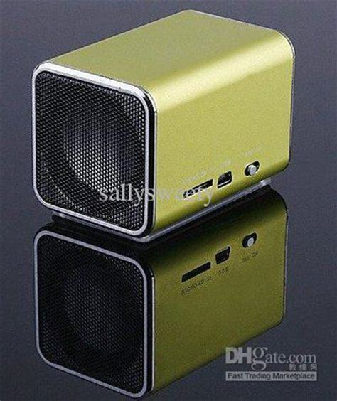Speaker Mini Memory Card mini speaker with micro sd card slot system for cell phone computer mp3 mp4 player subwoofer