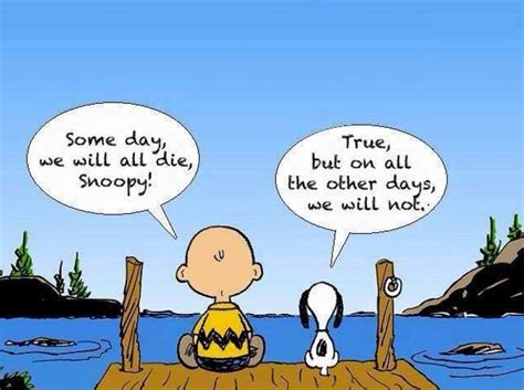 Pdf Snoopy A Day by Some Day We Will All Die Snoopy