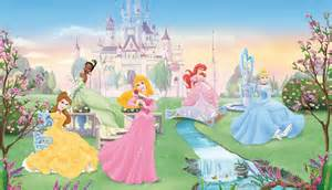 Disney Princess Wall Murals Disney Princess Wall Mural 2017 Grasscloth Wallpaper