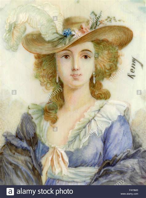 della moda francese cappelli e abiti della moda francese 1700 foto
