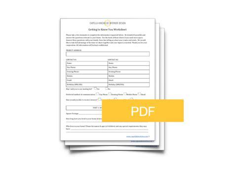 interior design client survey form psoriasisgurucom