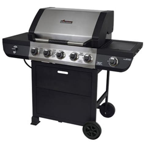 brinkmann 5 burner propane gas grill 810 2511 s reviews viewpoints com