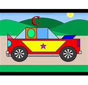 Build A Nascar For Children With Geometric Shapes Automobile Race
