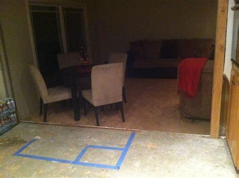 Living Room Routine Steps How Do You Design Around A Recessed Living Room That Steps