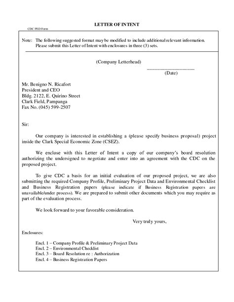 a business letter with a supplemental enclosure business letter enclosure format sle