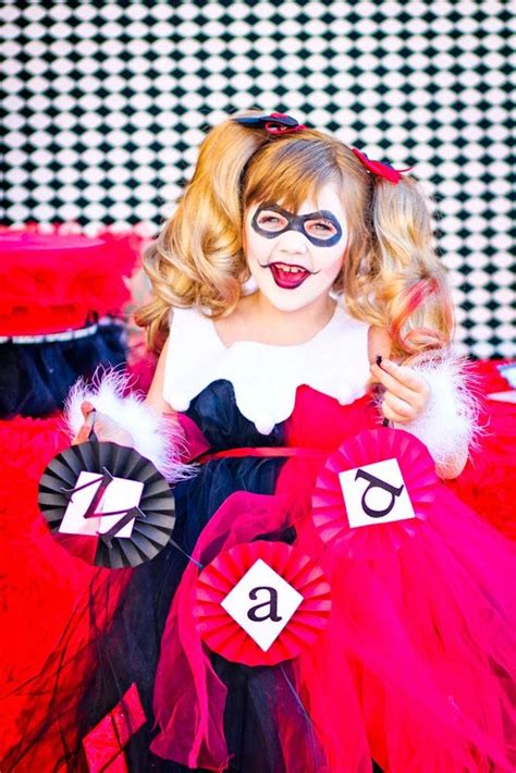 harley quinn themed birthday party kara s party ideas joker inspired quot mad love quot birthday