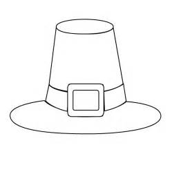 pilgrim hat printable template hat colouring page new calendar template site