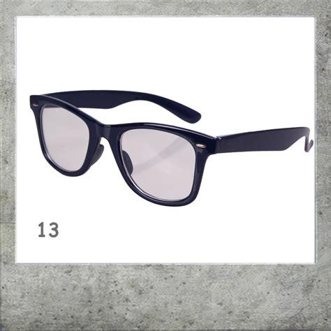 brille ohne gestell brille wayfarer ohne st 228 rke atzenbrille