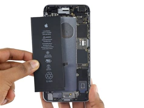 iphone 6s plus battery replacement ifixit repair guide