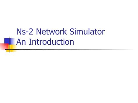 tutorial ns3 pdf an introduction to network simulator 3 dirty weekend hd