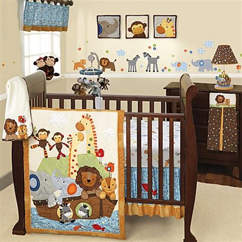 noah s ark baby bedding lambs ivy 174 s s noah bedding collection buybuybaby com