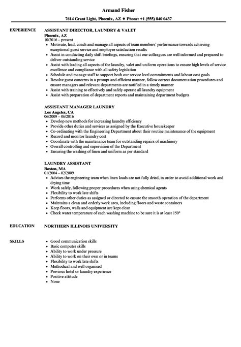 Laundry Assistant Cover Letter by Laundry Assistant Sle Resume Data Clerk Cover Letter Exle Of A News Letter