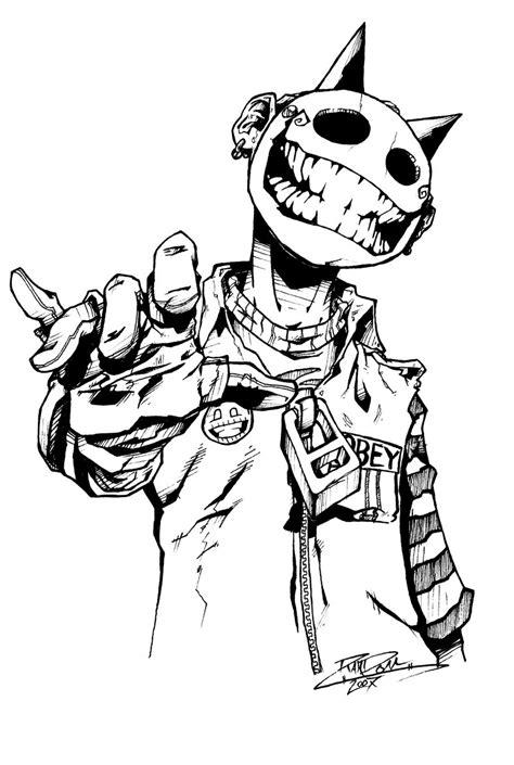 jester study by randominkstudios on deviantart