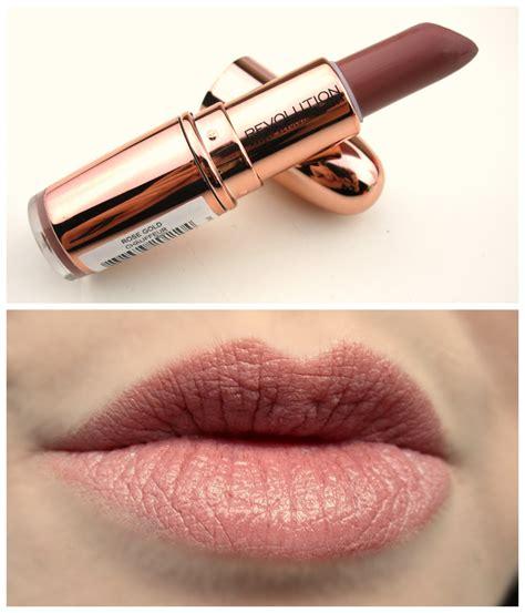 Lipstik Golden haysparkle makeup revolution gold lipsticks