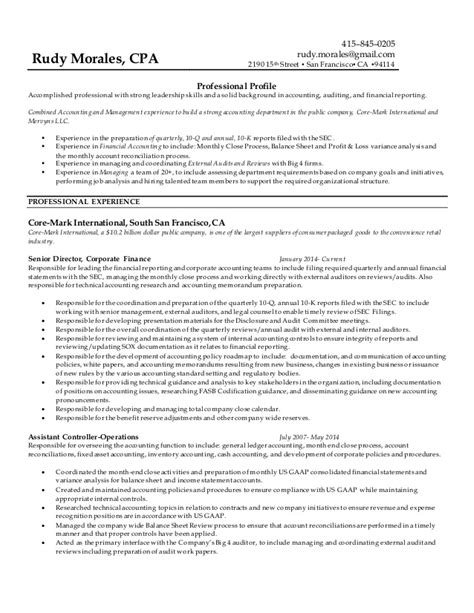 Cover Letter For Big 4 Accounting Firms Rudy Morales Resume 2015