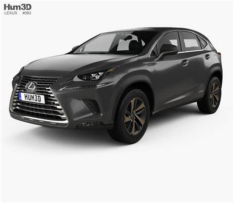 lexus models lexus nx hybrid 2017 3d model hum3d