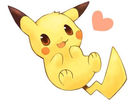 imagenes kawaii de amor para dibujar pikachu kawaii dibujos para dibujar colorear imprimir