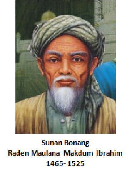 wali songo sunan bonang profil sunan bonang  sejarahnya
