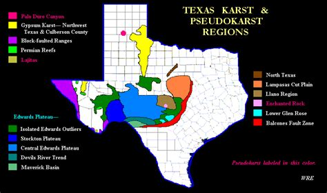caverns in texas map texas karst texas speleological survey tss cave records publications nss national