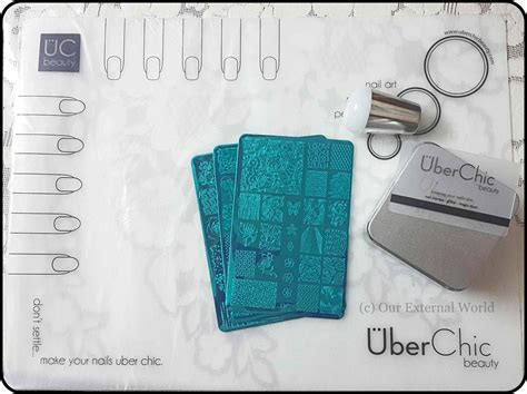 uber chic nail art tutorial uber mat by uber chic beauty create your own nail decals