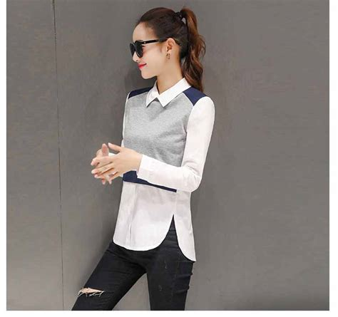 Baju Atasan Casual Import Murah baju atasan wanita simple casual 2017 model terbaru