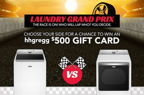 Hhgregg Gift Card - win a washer dryer or gift card in hhgregg maytag salutes victory lane sweepstakes