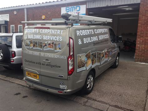 van signwriting van graphics bmd signs wraps
