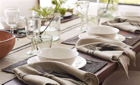 6 dining room table setting secrets pottery barn