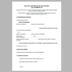 modele bail gratuit location appartement document