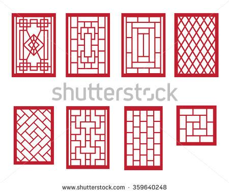 chinese pattern frame asian boarder stock images royalty free images vectors