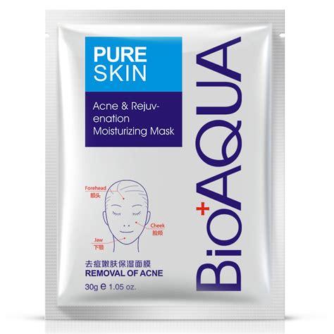 New Bioaqua Sheet Mask aliexpress buy bioaqua acne treatment mask