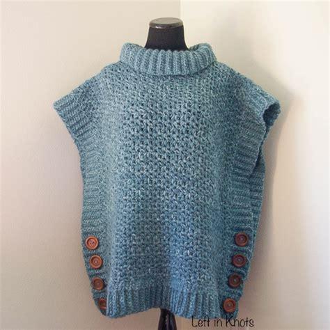 free poncho knitting patterns adults amelia poncho sweater free crochet pattern