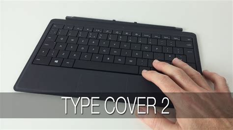 windows surface type cover microsoft surface type cover 2 unboxing look