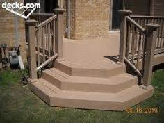 Deck Corner Stairs Design Angled Deck Stairs With A Wrap Around Angled Edge Wedding Cake Steps Give Your Deck
