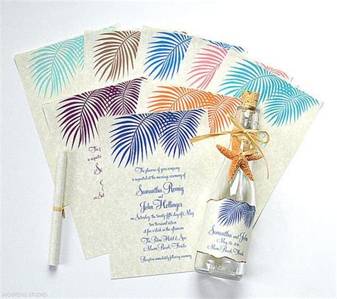bottle wedding invitations bottle invitations
