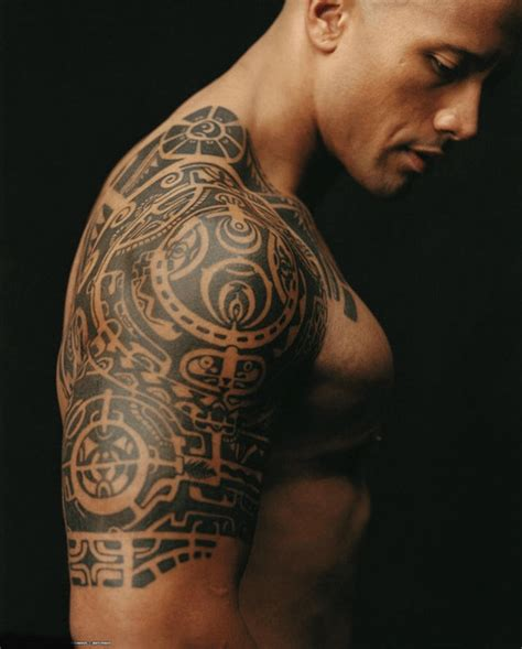 tattoo de dwayne johnson significado tatuaje dwayne johnson laa roca