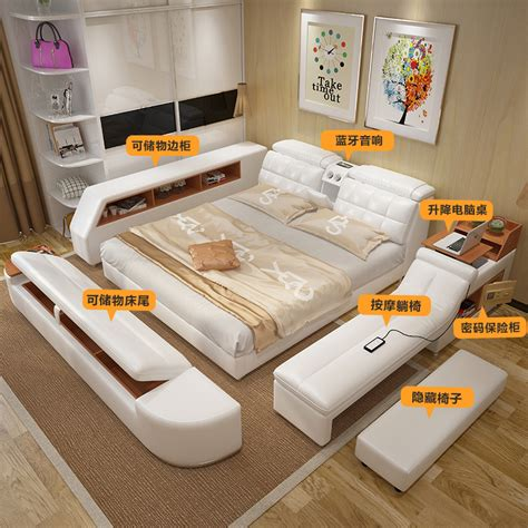 tatami bett usd 1158 75 multifunctional tatami bed leather bed smart