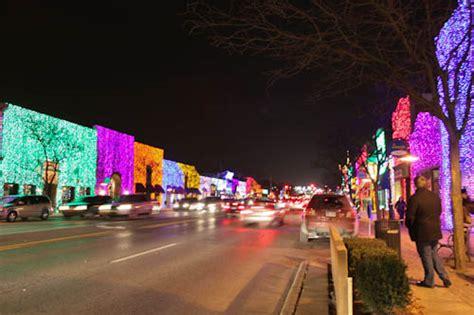 holiday lights sparkle around detroit detroit moxie
