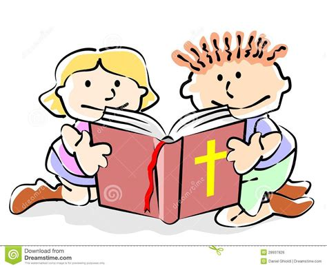 imagenes niños leyendo la biblia ni 241 os de la biblia stock de ilustraci 243 n ilustraci 243 n de