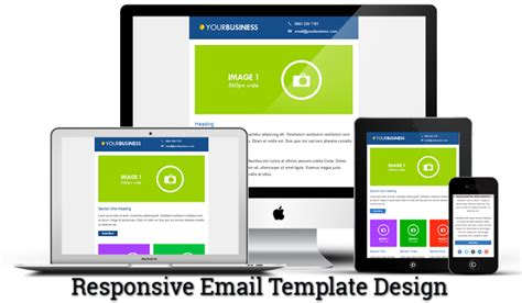 Improve The Power Of Email Marketing Using Responsive Email Template Design Email Chopper Responsive Email Template 2017