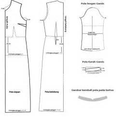 pola dasar membuat baju hem cara membuat pola baju