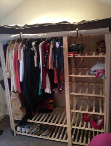 Canvas Wardrobes For Sale by Canvas Wardrobe For Sale In Sandymount Dublin From Shanec828